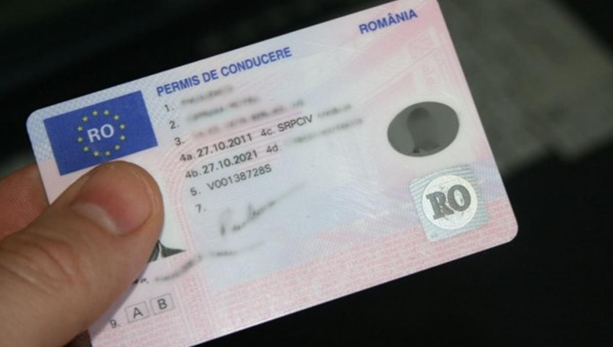 Permis de conducere romanesc/CIP